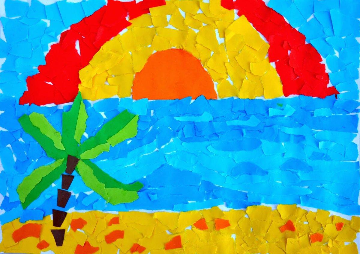 Детские поделки по теме лето