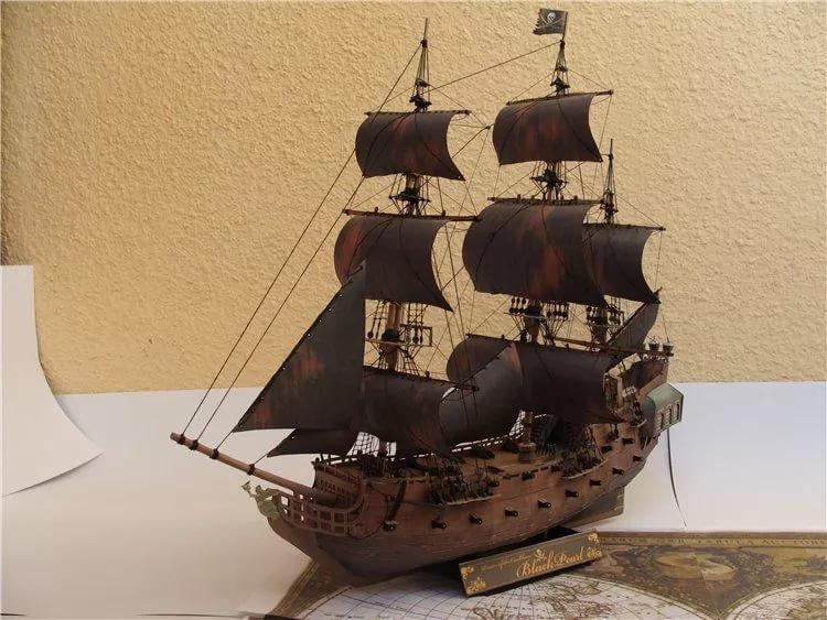 Для детей корабли своими руками из 675