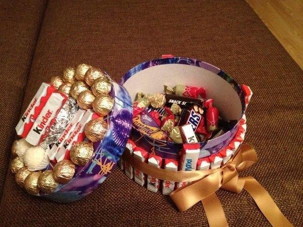 Как сделать сладкие подарки 11