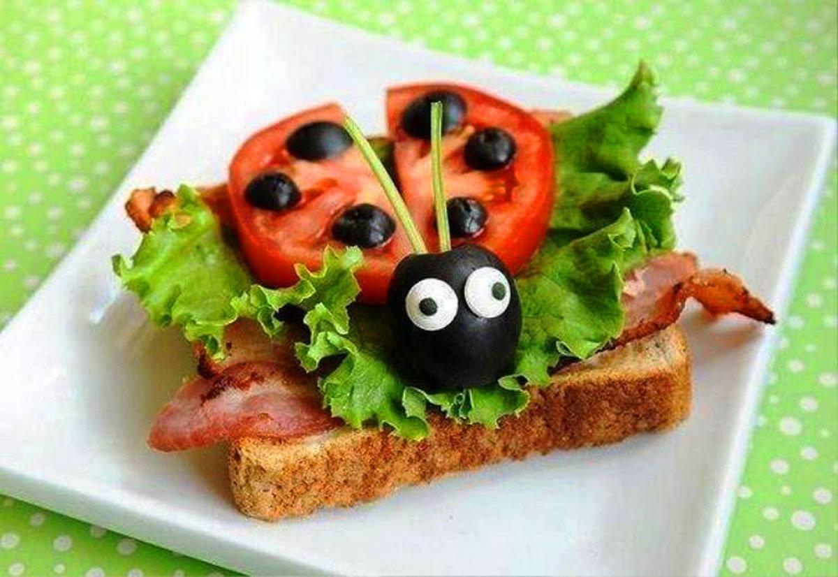 Бутерброды на день рождения детей