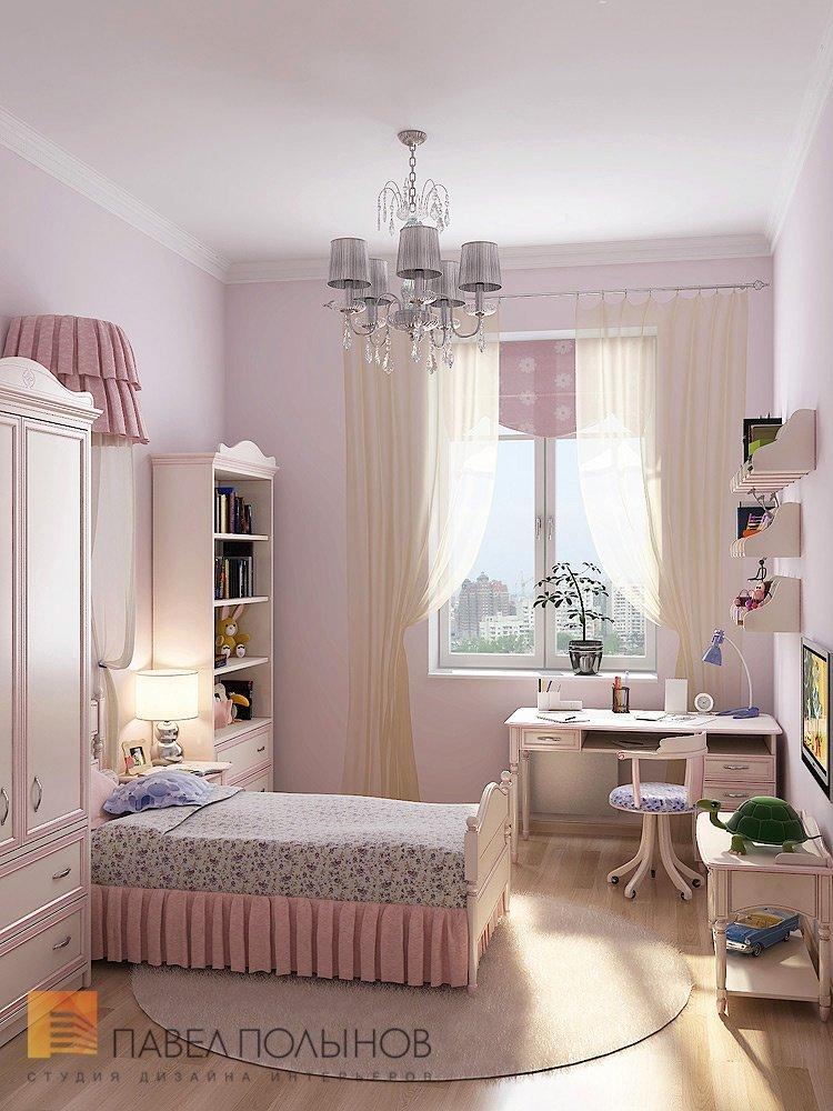 Детская комната для романтической барышни / дети / детская к.