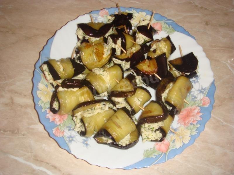 Канапе из баклажанов рецепт