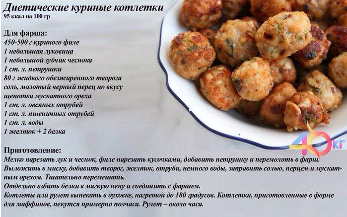 Блюда рецепты для похудения фото