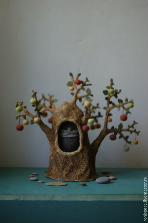 Дерево своими руками мастер класс папье-маше 52
