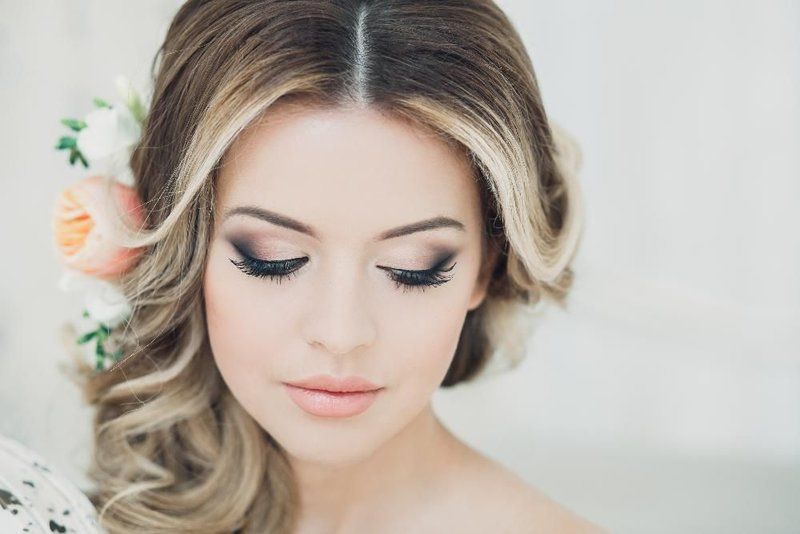 Очень красивый макияж свадебный