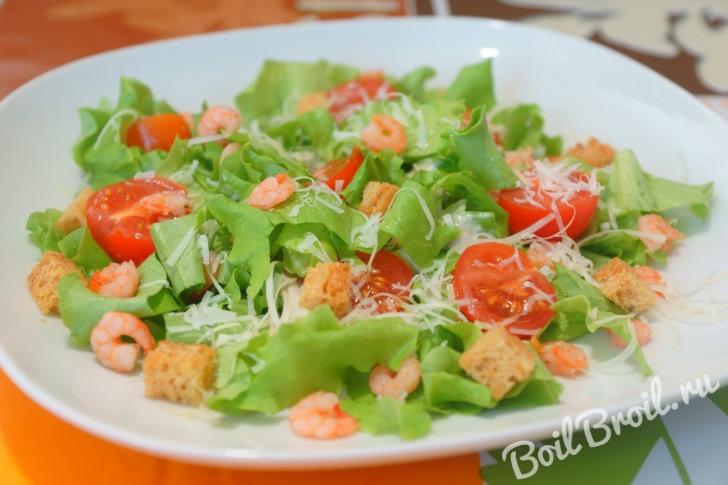Цезарь салат своими руками 11