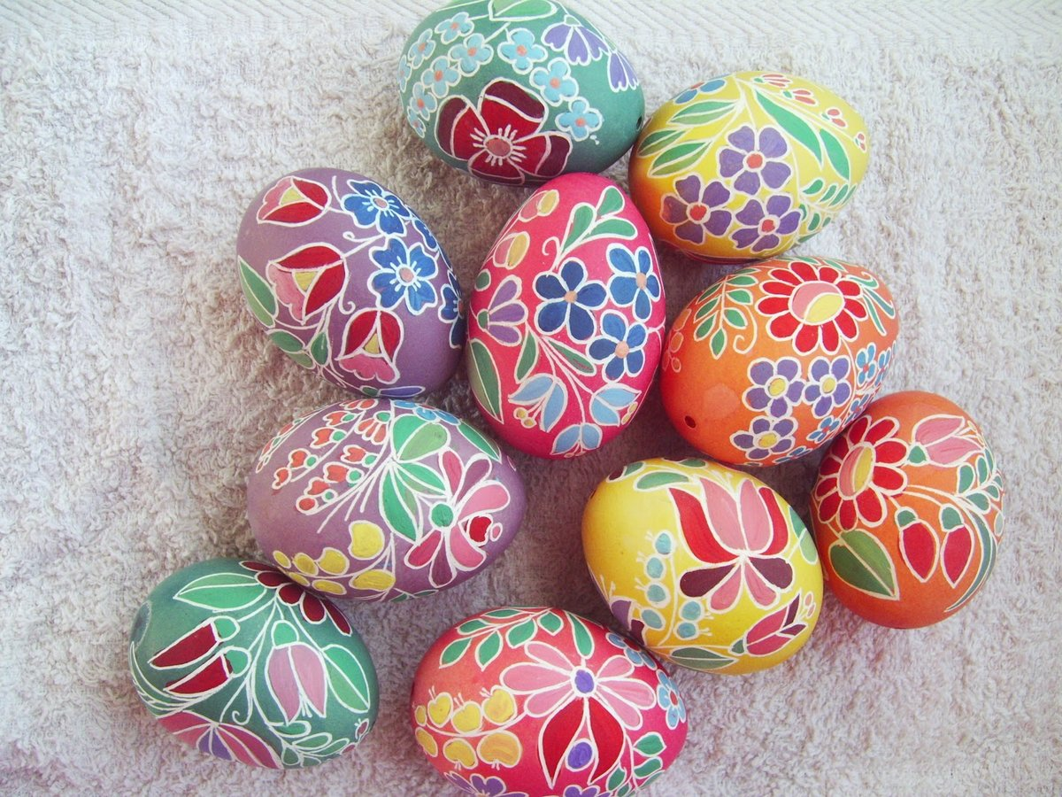 Как покрасить яйцо к пасхе своими руками