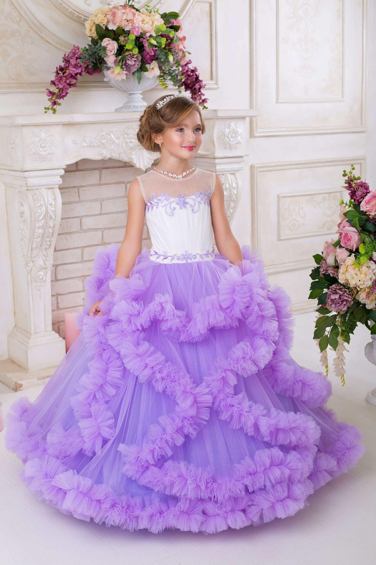 Бальные платья детские с ценами