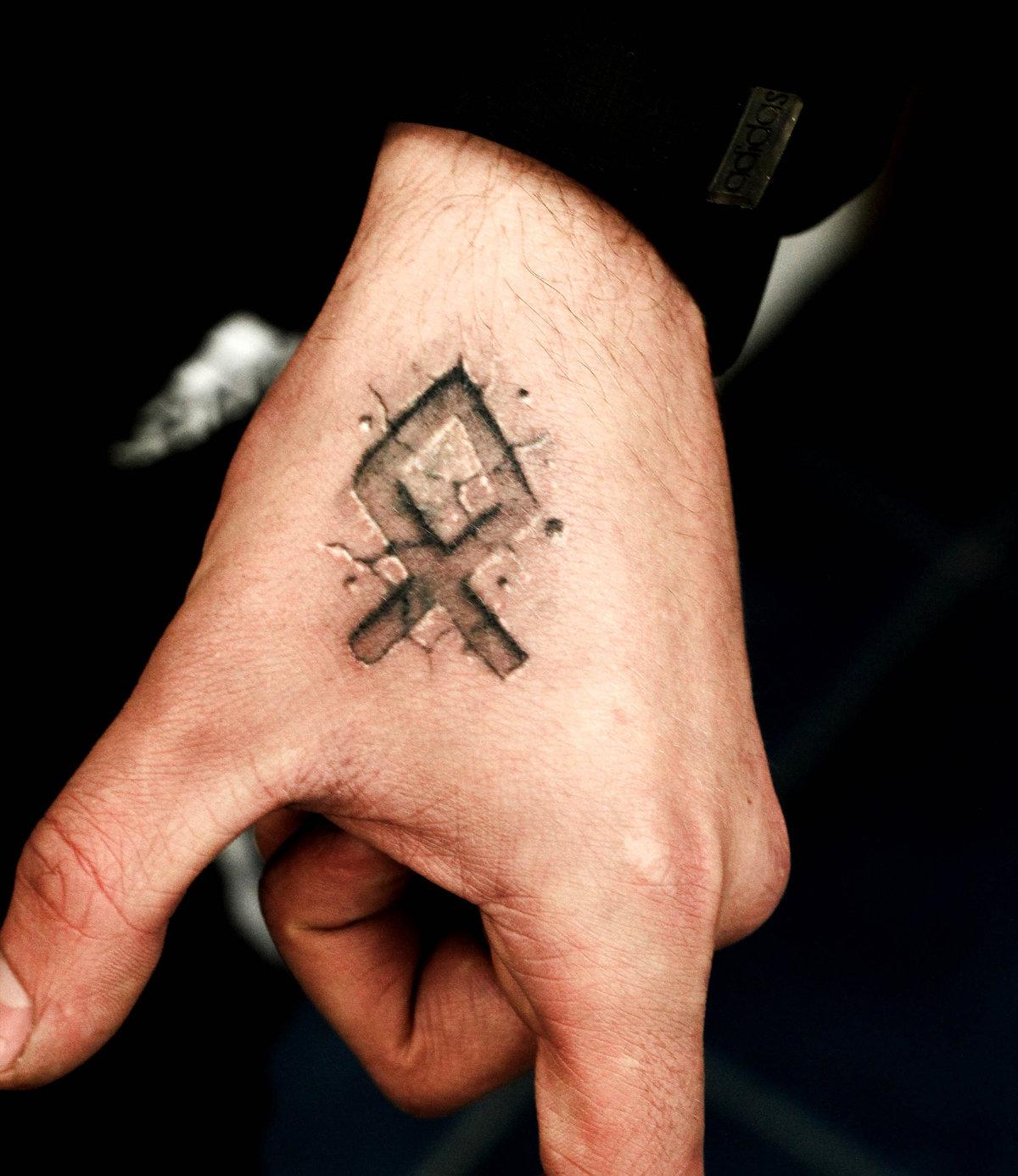 Фото славянских тату надписи