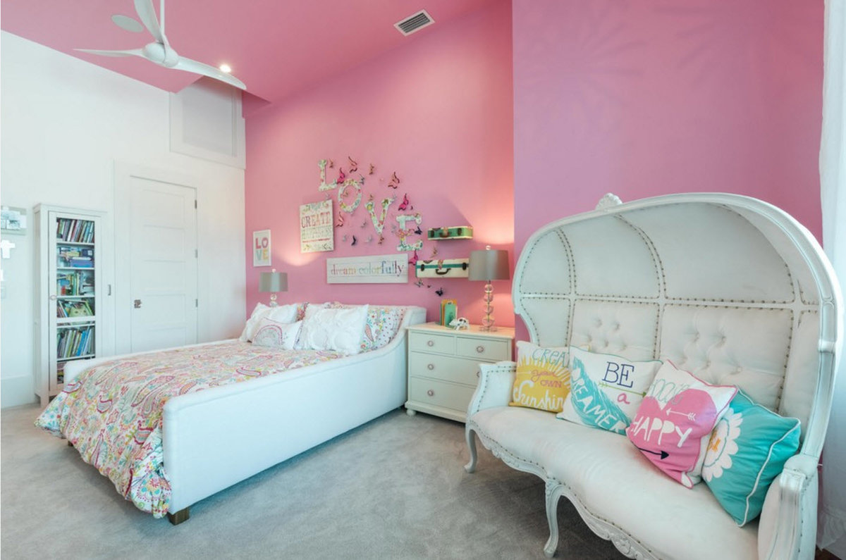 Комната для маленькой девочки дизайн