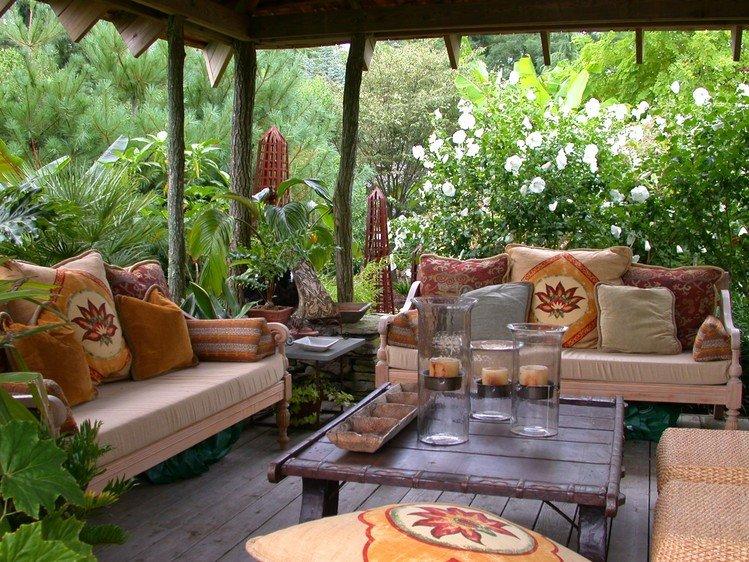 Дачные интерьеры для сада