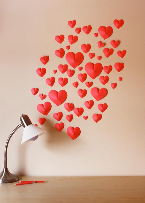 Своими руками сердце на стену 70