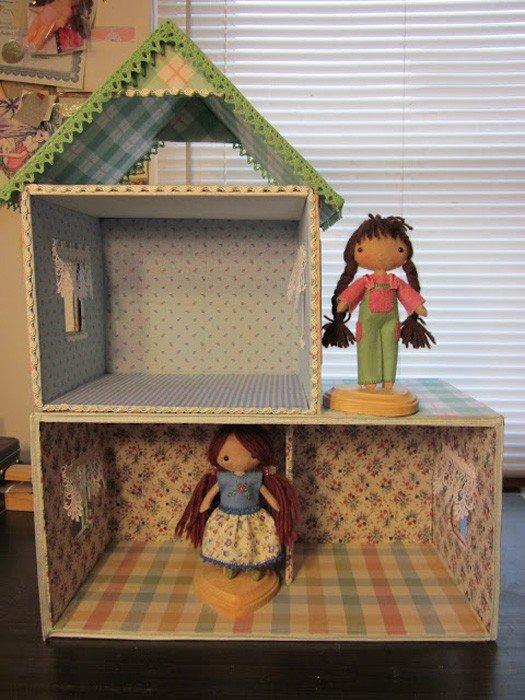 Как сделать детскую для куклы своими руками 55