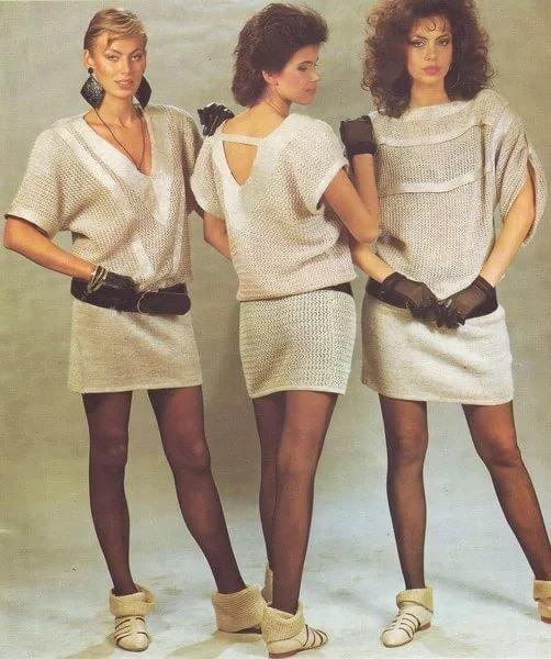 Причёски в 80-х годов платья и прически