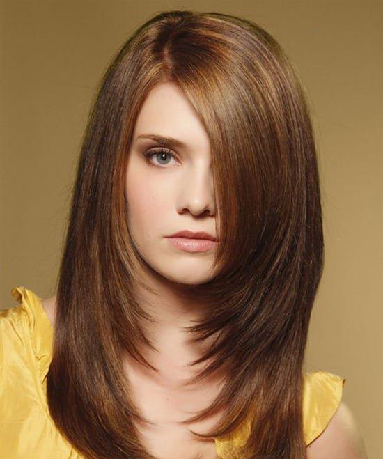 Фото стильные стрижки для длинных волос