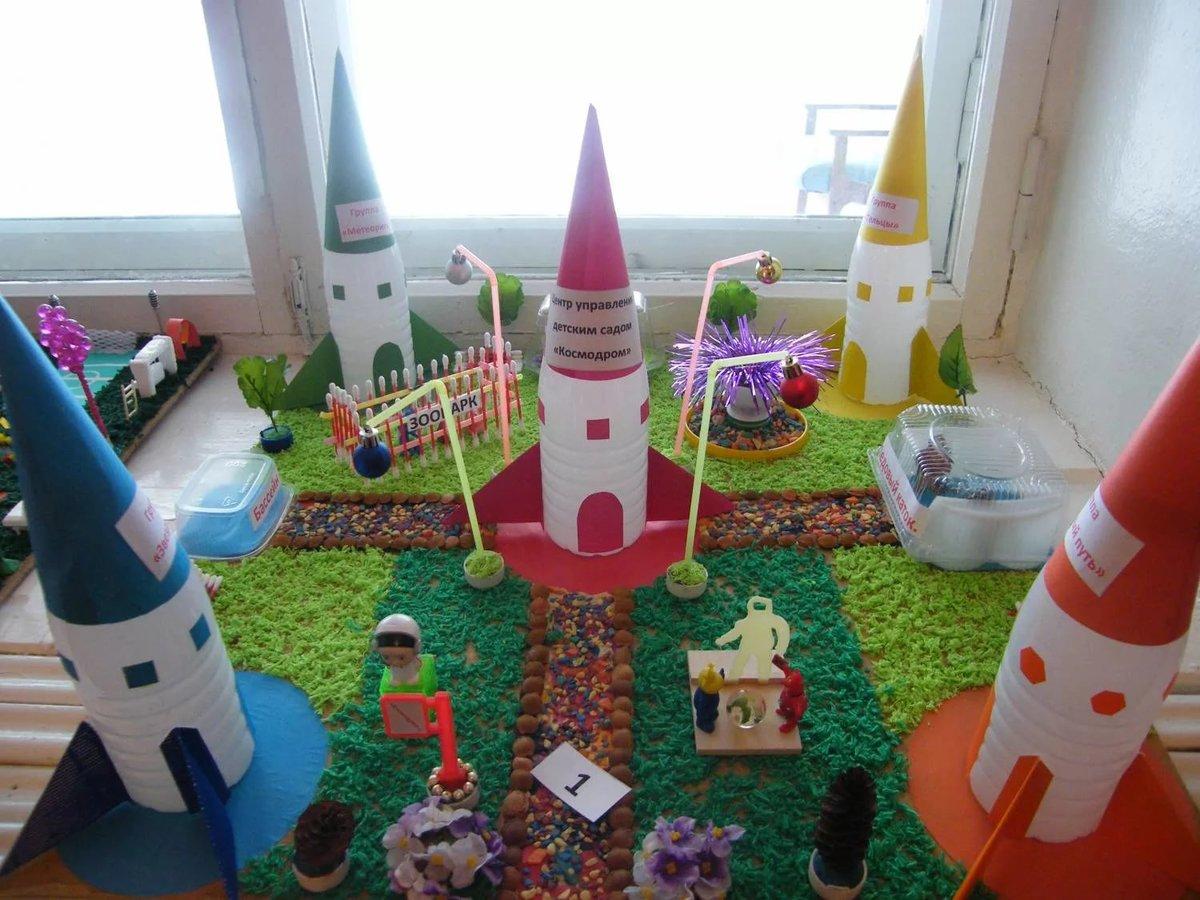 Поделка для детского сада на тему мой детский сад