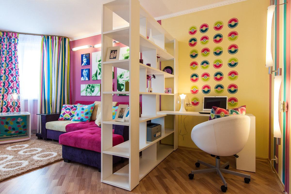 Как сделать в одной комнате детскую и взрослую фото