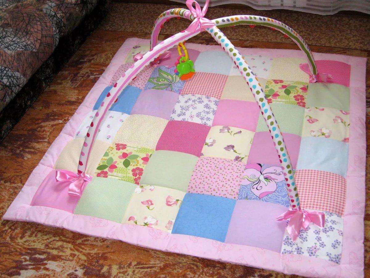Сшить коврик для ребенка от 0 до 3 168