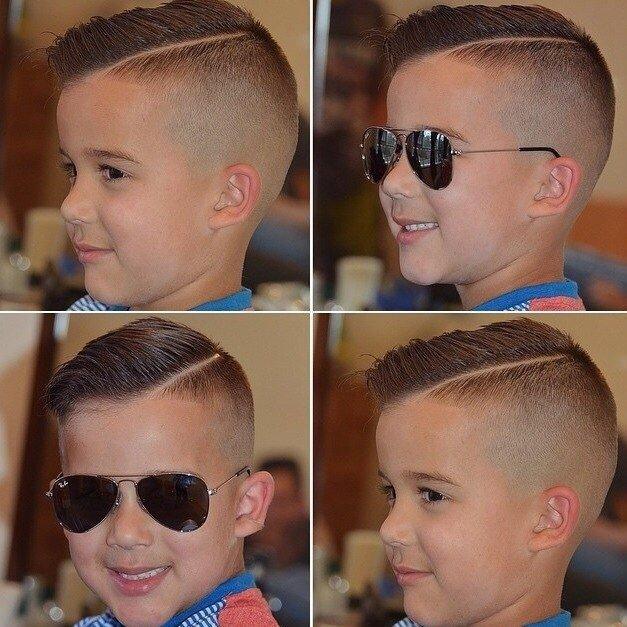 Какие стрижки для мальчиков модные