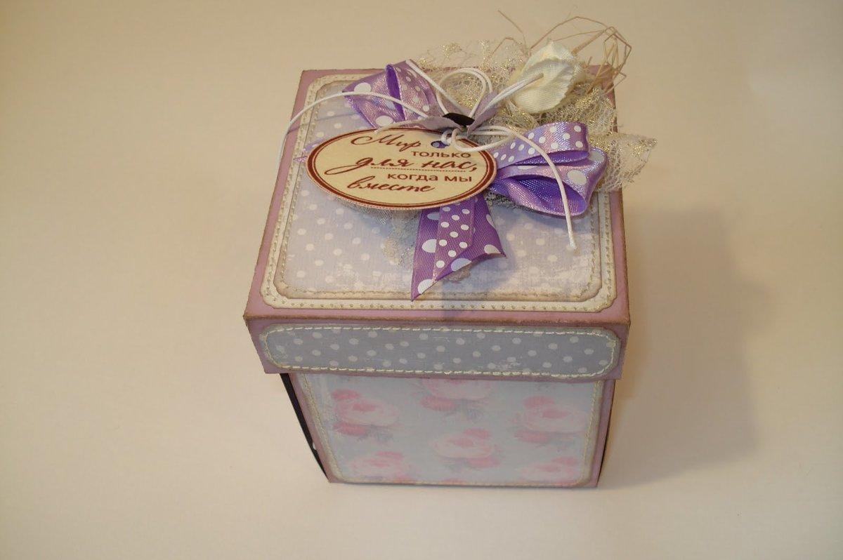 Коробка для скрапбукинга своими руками 45