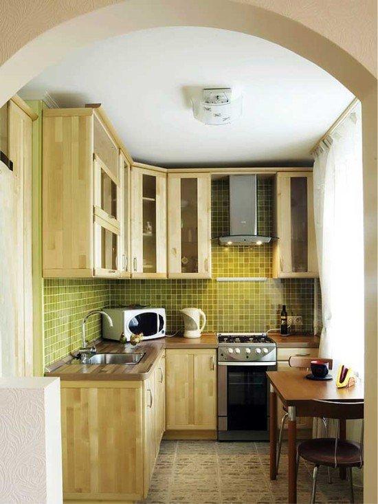 Ремонт кухни в хрущевке варианты своими руками 80