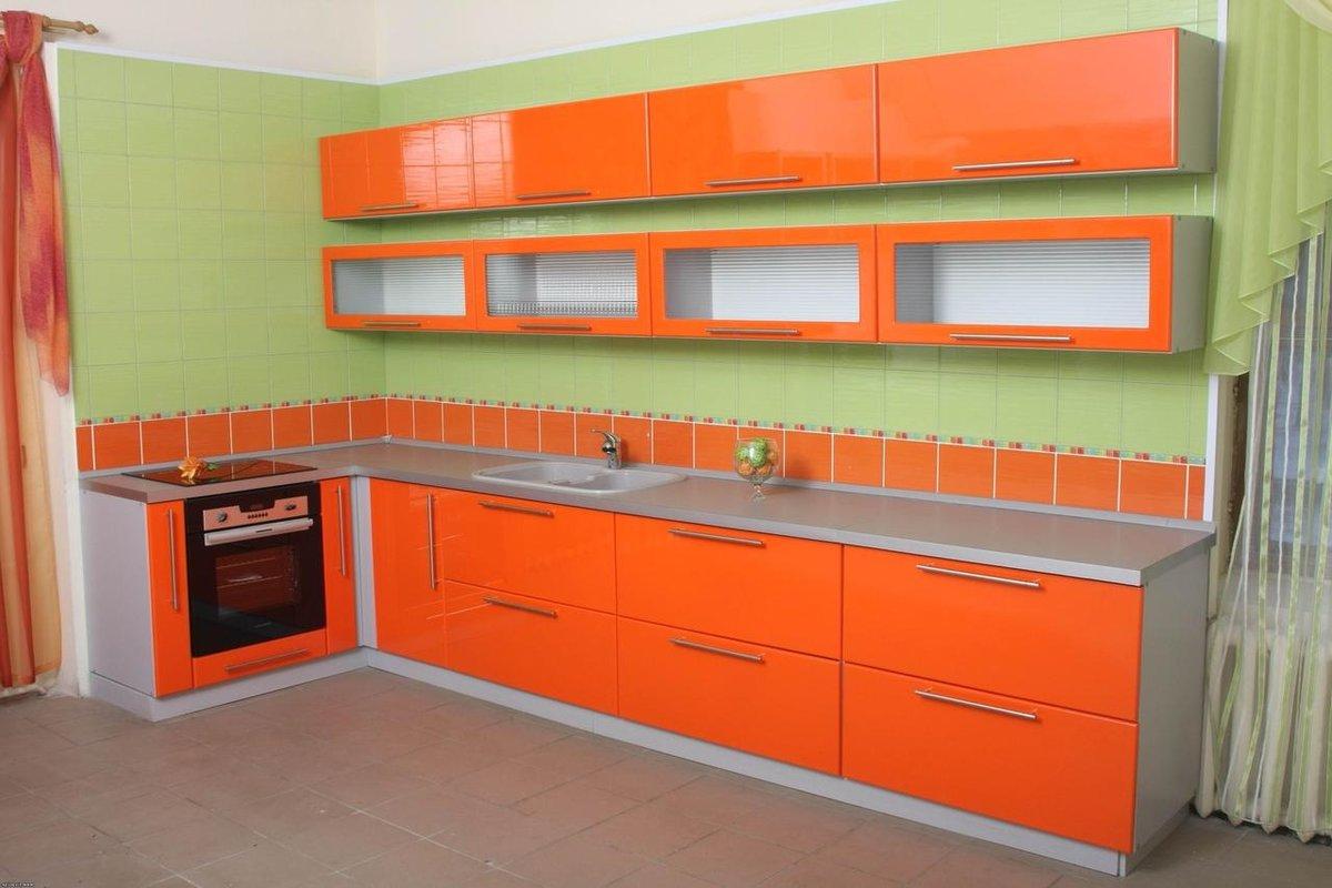 Обои для кухни - 155 фото дизайна, какие 42