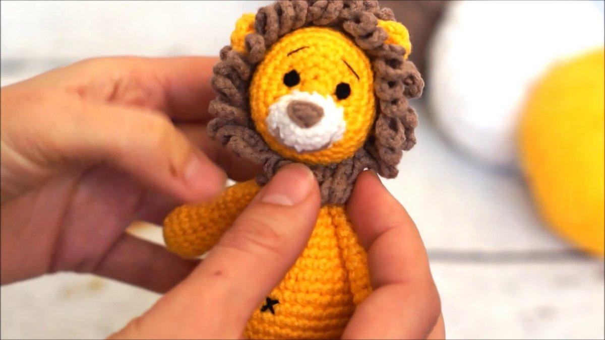 Вязание игрушек амигуруми крючком 963