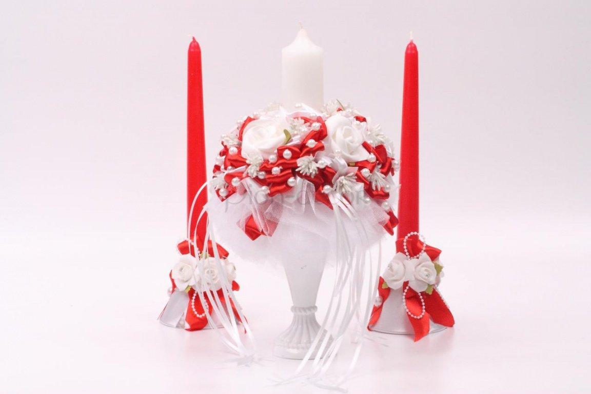 Свечи в подарок на свадьбу 56
