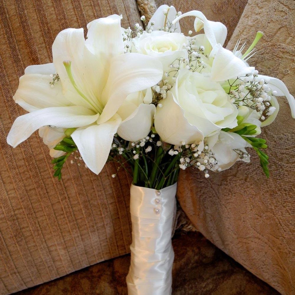 цветы для круглой вазы фото