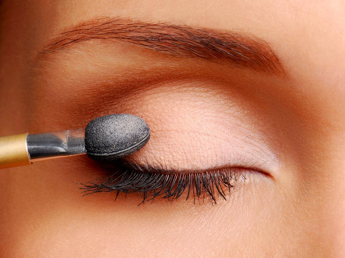 Фото макияжа теней для нависших век