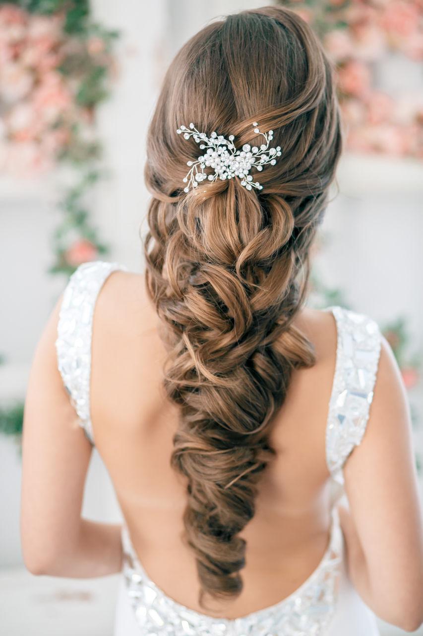 Прически свадебные плетение на длинные волосы фото
