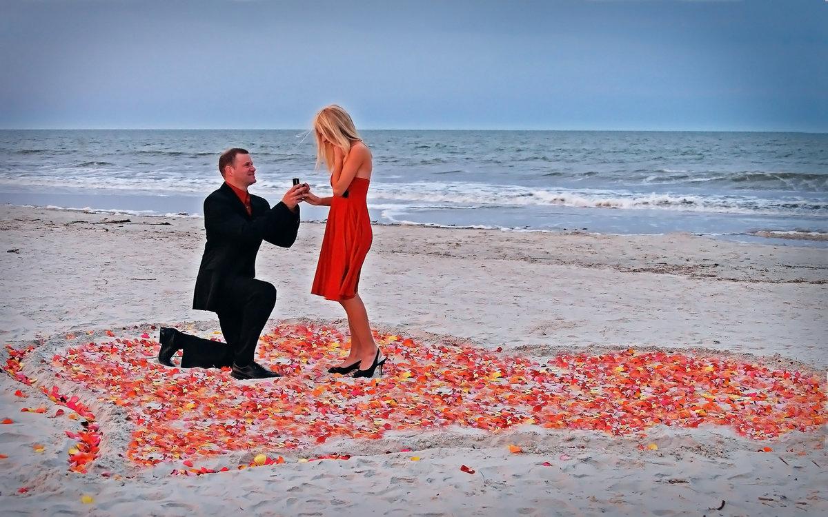 Как сделать романтичное предложение руки 456