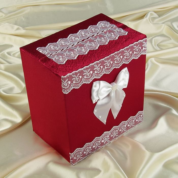 Своими руками коробку для денег на свадьбу 22