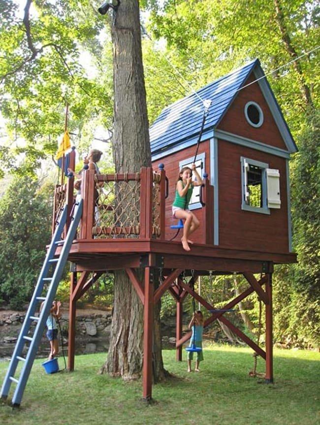 Дом на дереве своими руками детский 1149