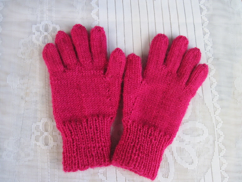 Вязание перчаток для детей 56