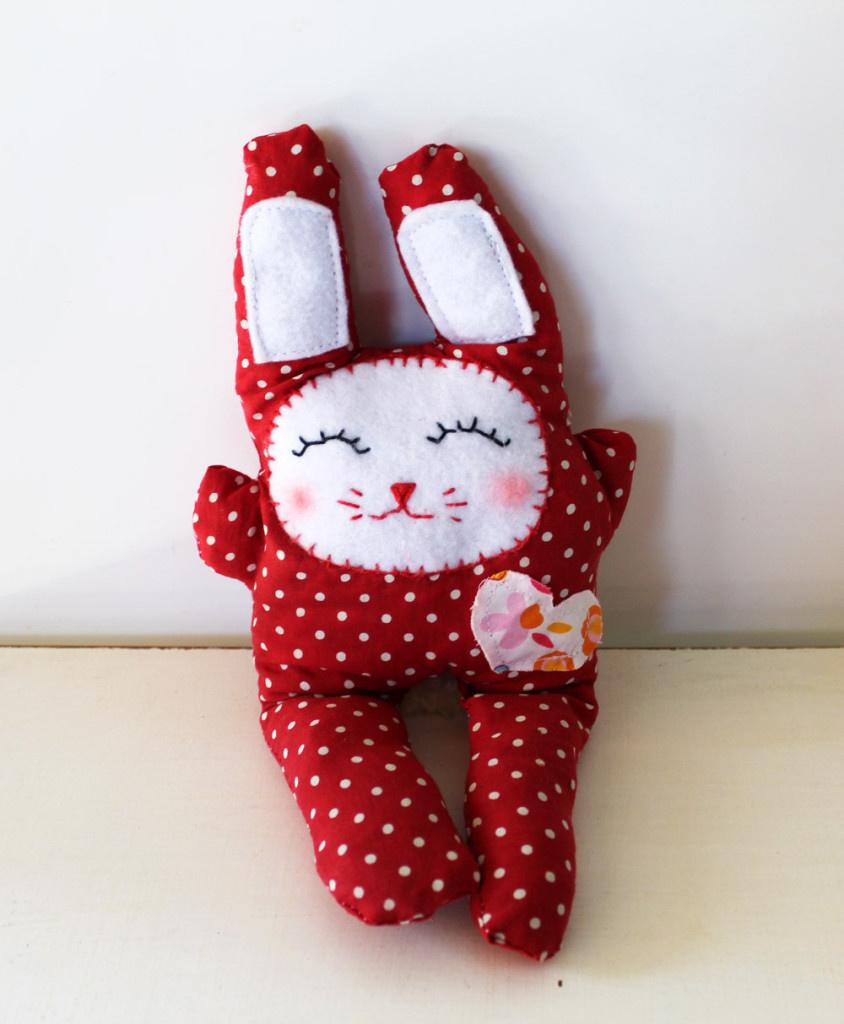 Мягкая игрушка зайка своими руками фото 30