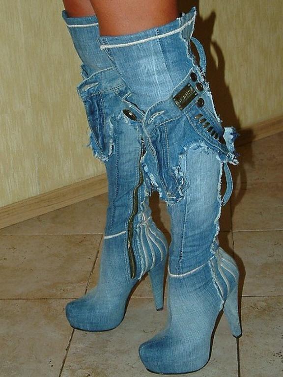 Пошив летней женской обуви своими руками 21