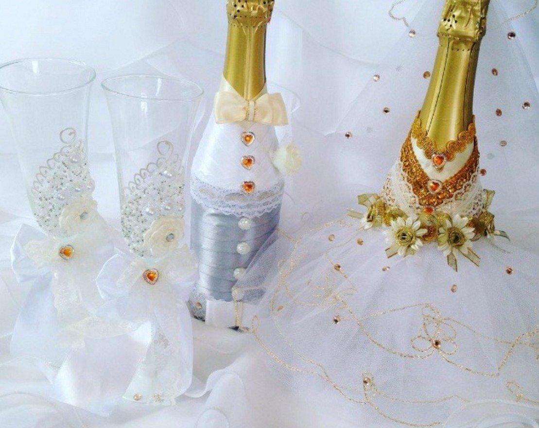 Бутылка шампанского на свадьбу своими руками на годовщину свадьбы 212