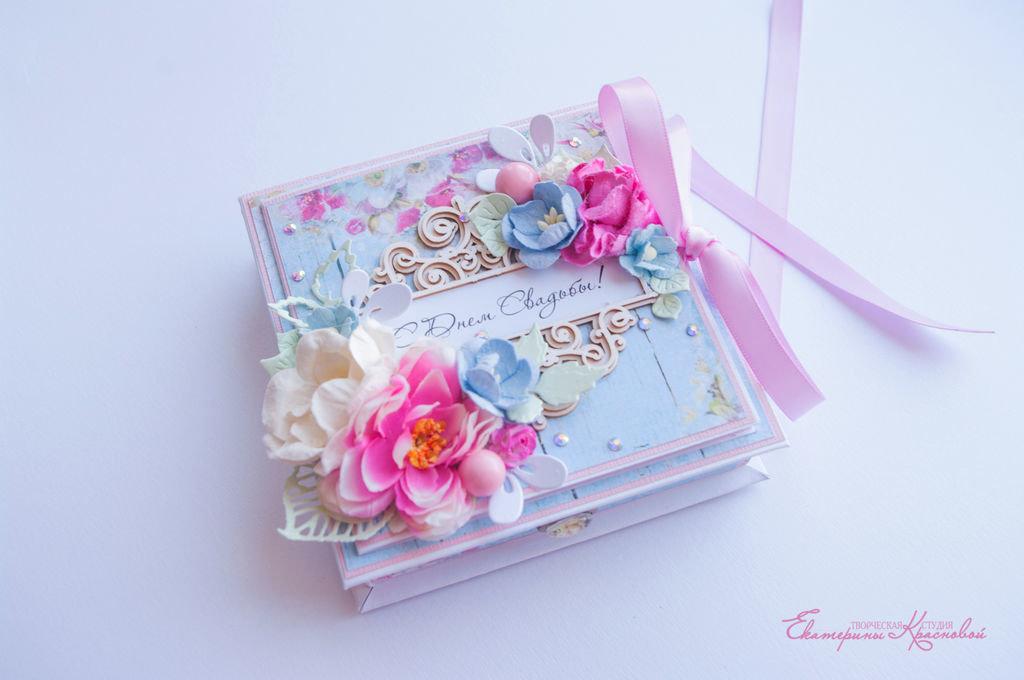 Коробка открытка своими руками на свадьбу 31