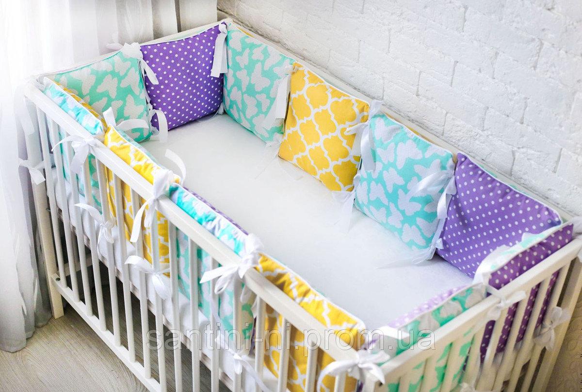 Шьем бортики-подушки для детской кроватки. Часть 1 Ярмарка