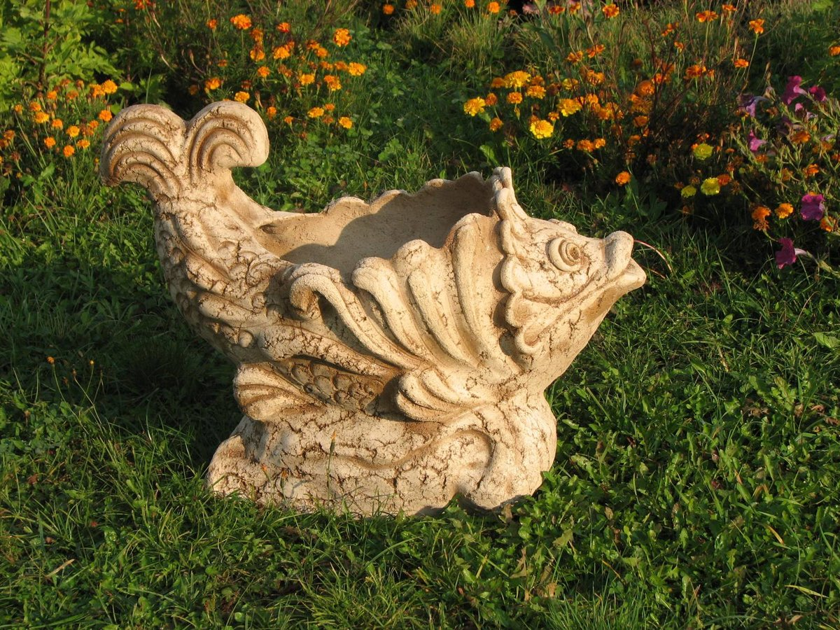 Поделки из глины для сада своими руками фото