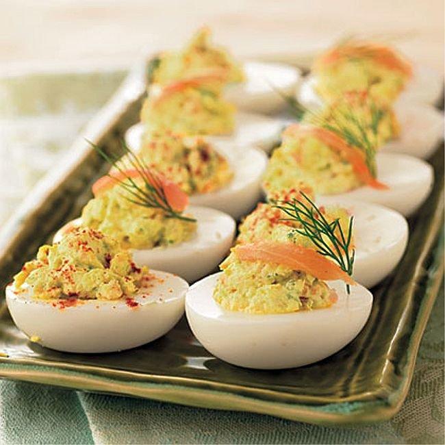 Фото рецепты закуска из яиц