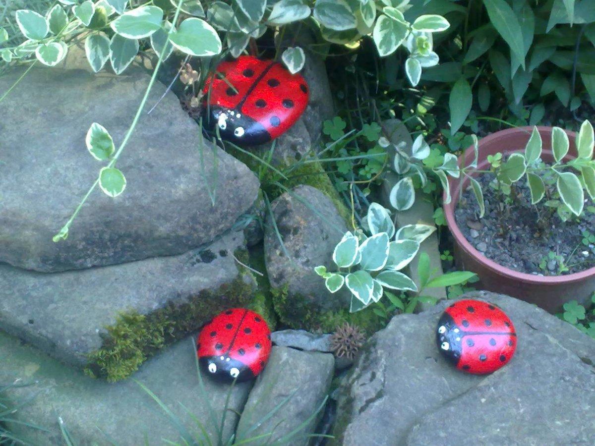 Поделки для сада своими руками из банных камней