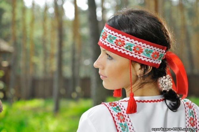Повязка на голову в русском народном стиле своими руками 22