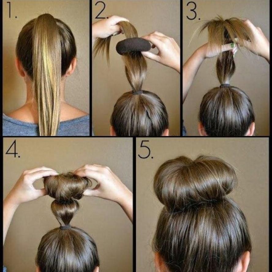 Валик для волос как сделать
