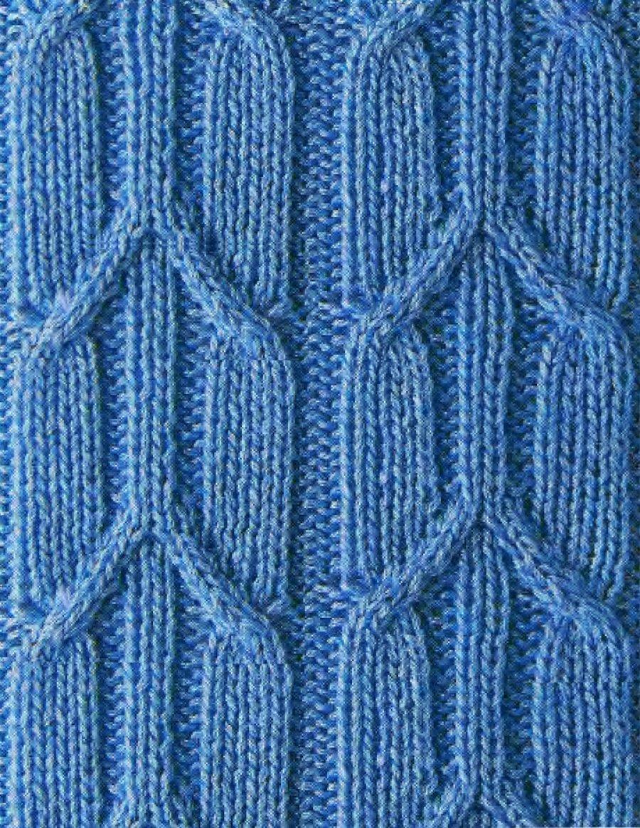 Схемы вязания косами фото