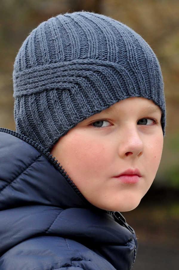Связать шапочку для подростка