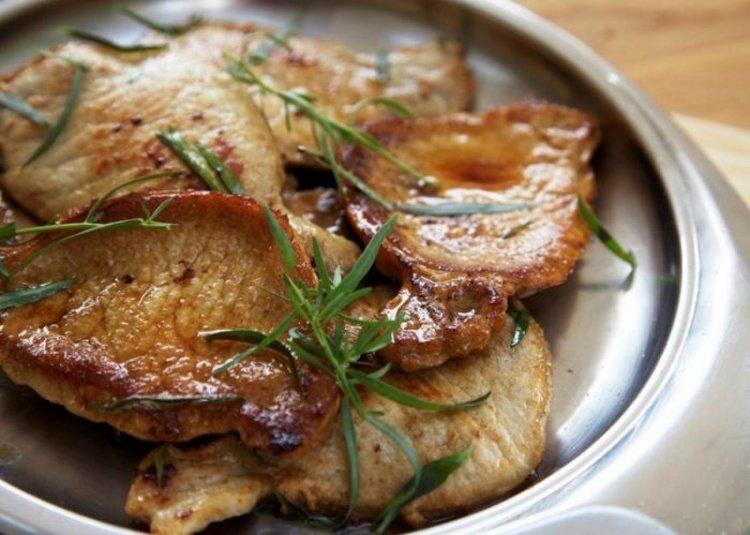 Рецепт свинина эскалоп в духовке