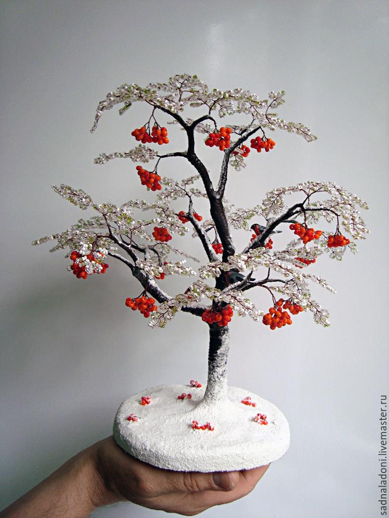 Детское дерево из бисера своими руками 40