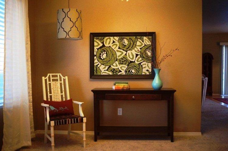 Картины на стену своими руками из подручных материалов 486